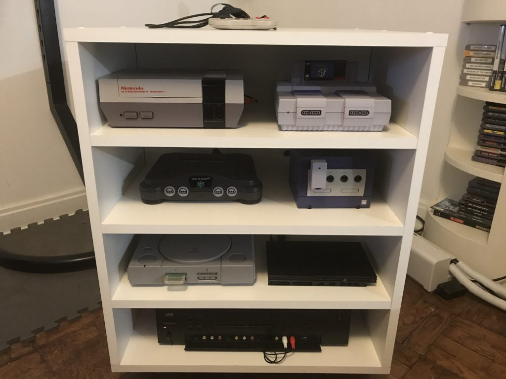 Video Game Console Cabinet Gordon Turner